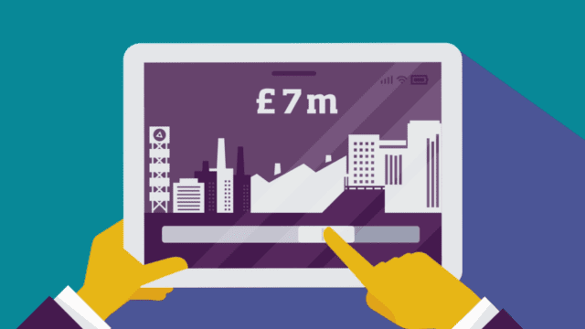 business-related-image-animated-on-tablet