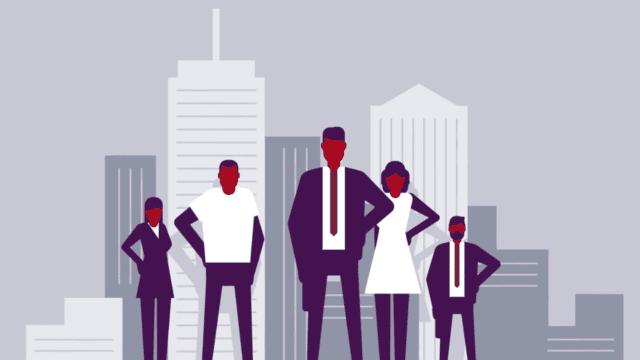 animation-of-business-people-in-front-of-a-city-skyline