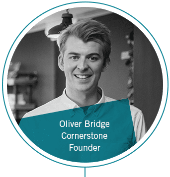 Oliver Bridge, Founder, Cornerstone