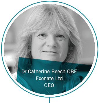 Dr Catherine Beech, Exonate Limited, CEO