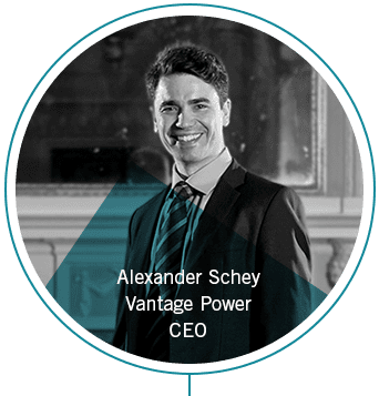 Alexander Schey - CEO of Vantage Power