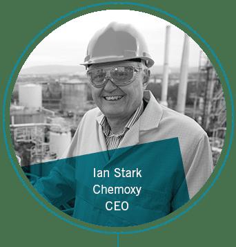 Ian Stark, Chemoxy, CEO