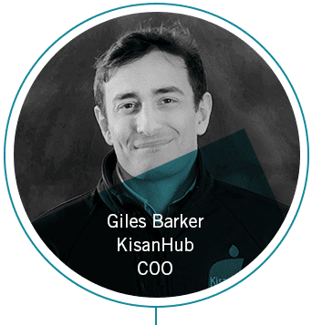 Giles Barker, KisanHub COO and Co-Founder