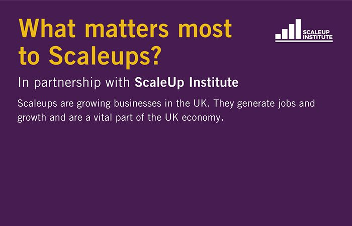 What matters most to growing businesses?