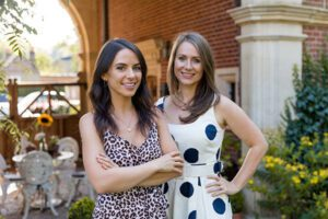 Gracie and Sophie Tyrrell, founders of the Squirrel Sisters brand