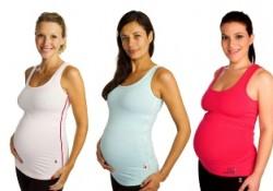 3 pregnant women modelling Fittamama clothing