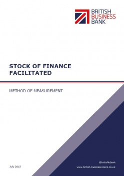 Stock of Finance Facilitated Report Cover