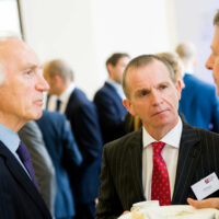 3 men speaking at the BBB Vital Ingredient for growth event