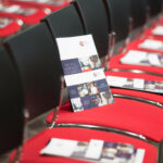 The Vital Ingredient for Growth brochures on chairs