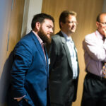 3 men listening at the BBB Vital Ingredient for Growth event