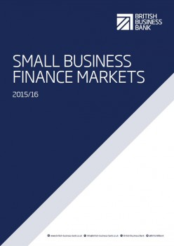 Small Business Finance Markets 2015 report cover
