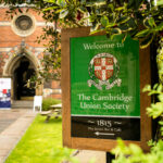 Entrance to the Cambridge Union Society