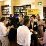 People networking at the BBB Vital Ingredient for growth event
