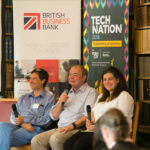 A panel of people speaking at the BBB Vital Ingredient for Growth event