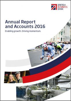 BBB Annual report and accounts report cover 2016