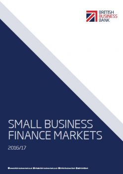 Small Business Finance Markets 2016 report cover
