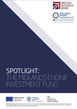 Spotlight: Midlands Engine Investment Fund report cover
