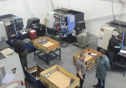 CM Precision Components Ltd workshop