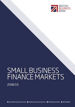 Small Business Finance Markets 2018 report cover