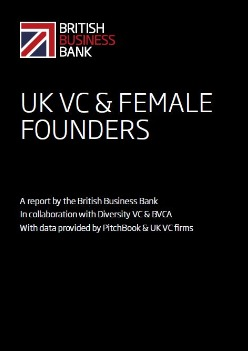 The cover of the UK VC & Female Founders report