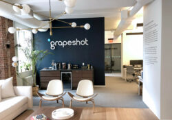 Image of Grapeshot office's reception area