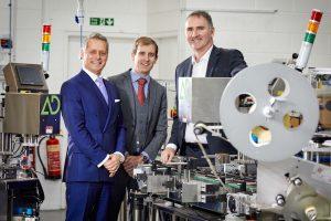 Malcolm Little of Advanced Dynamics Limited, Alex Baskeyfield of Mazars, Jonathan Craig of Mercia.