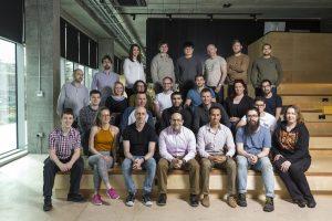 Group photo of DigitalBridge team