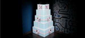 Dream a theme - animated wedding cake