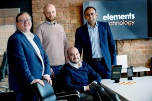 Group photo of Elements Technology founders