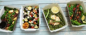 4 boxes of healthy lunches from City Pantry