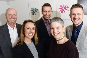 Employees from Sign Solutions, a business who received funding from the Midlands Engine Investment Fund