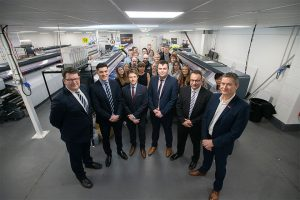 Colleagues from the YPP Group who received a Midlands Engine Investment Fund