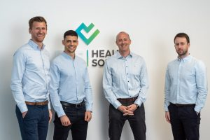 A group of colleagues from ART Health Solutions who received a Coronavirus Business Interruption Loan
