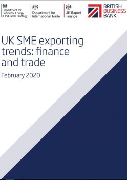 UK SME EXPORTING TRENDS FINANCE AND TRADE