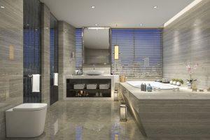 high end bathroom suite