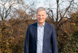 David Linell, owner of housebuilding company Linell Homes