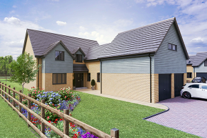 A new-build residential property on one of Artisan's new developments