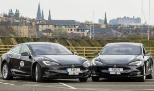 Capital Cars's new fleet of two Tesla Model S P85 vehicles
