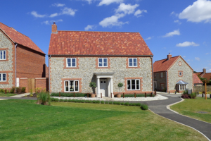 A new-build property on one of Fleur Homes's residential estates