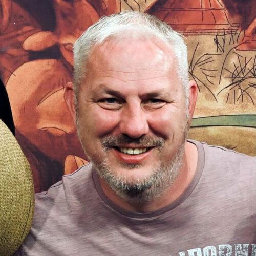 Portrait shot of Mike Powell