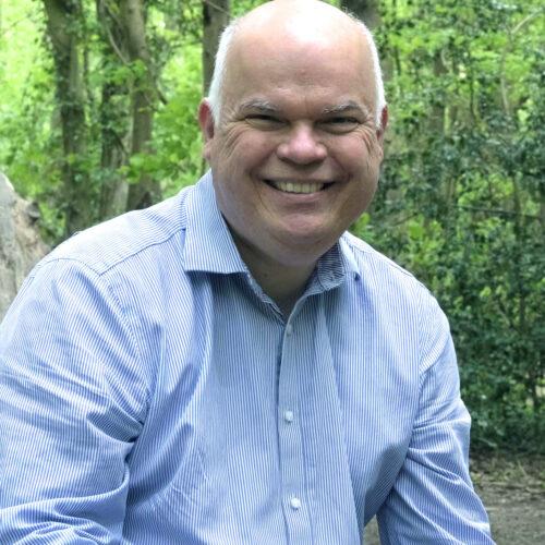Portrait shot of Warren Ralls