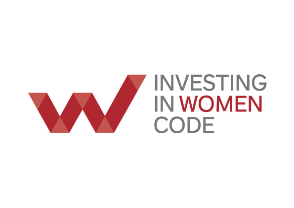 Logo: Investing in women code