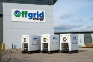 The exterior of the Offgrid premises