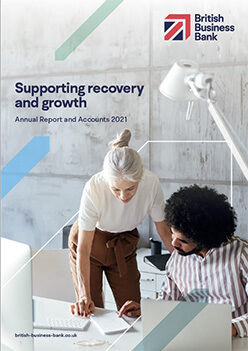 Supporting recovery and growth - Annual Report and Accounts 2021 (Cover)