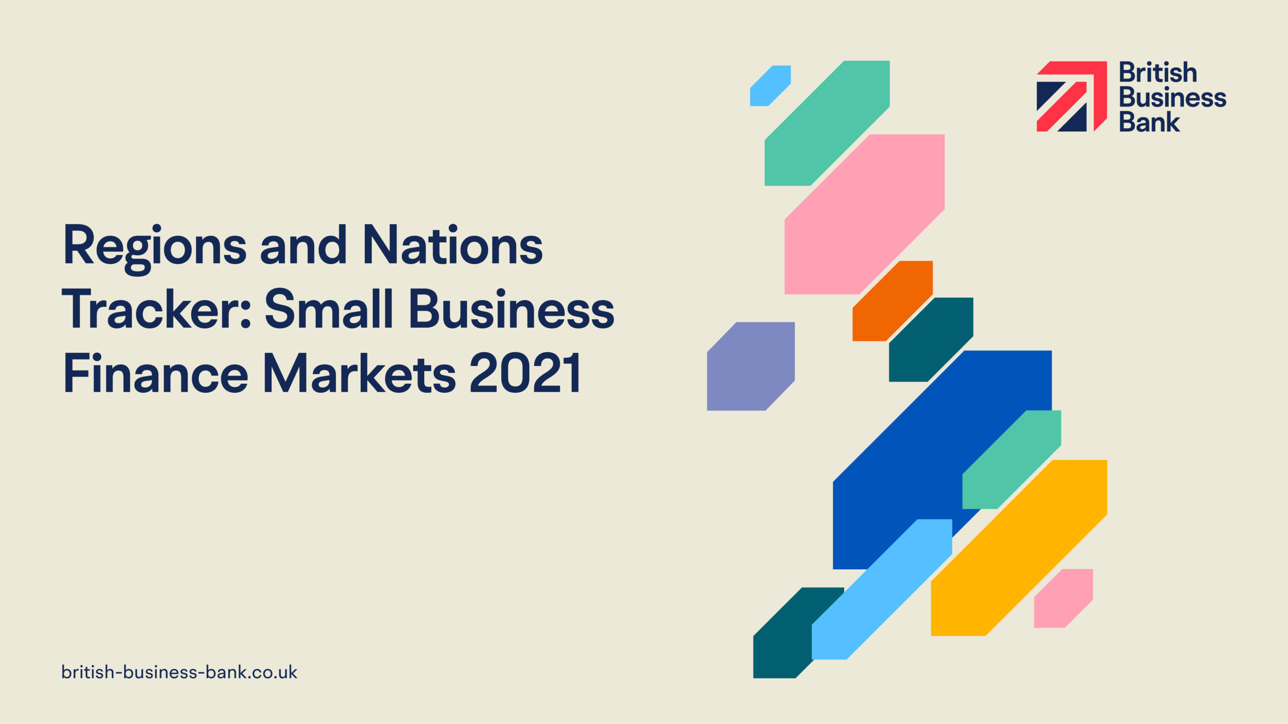 Regions and Nations Tracker: Small Business Finance Markets 2021 report front cover